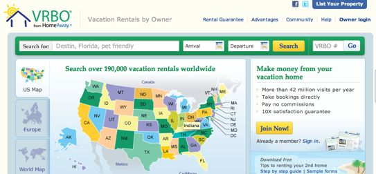 vrbocom better known by the name vacation rentals