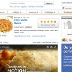 30 Popular Recipes Websites