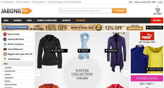 Top online shopping sites for clothes
